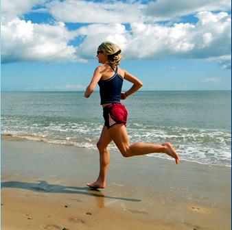 Beach-aerobic-exercise
