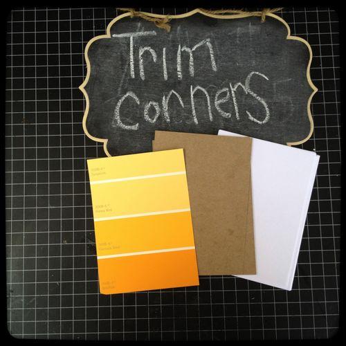 10trim the corners