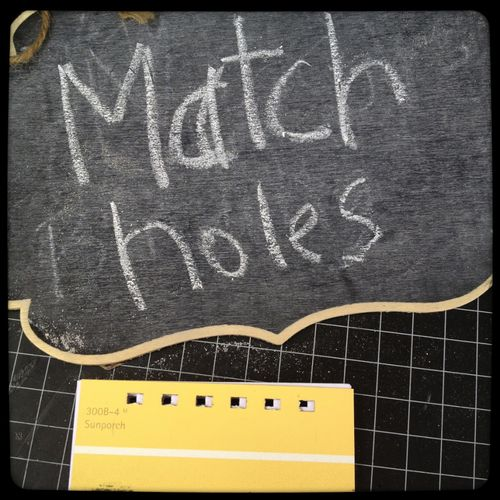 16atch holes