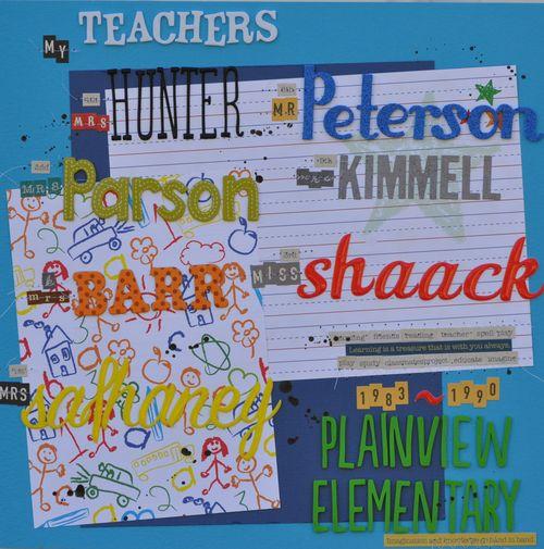 My Teachers