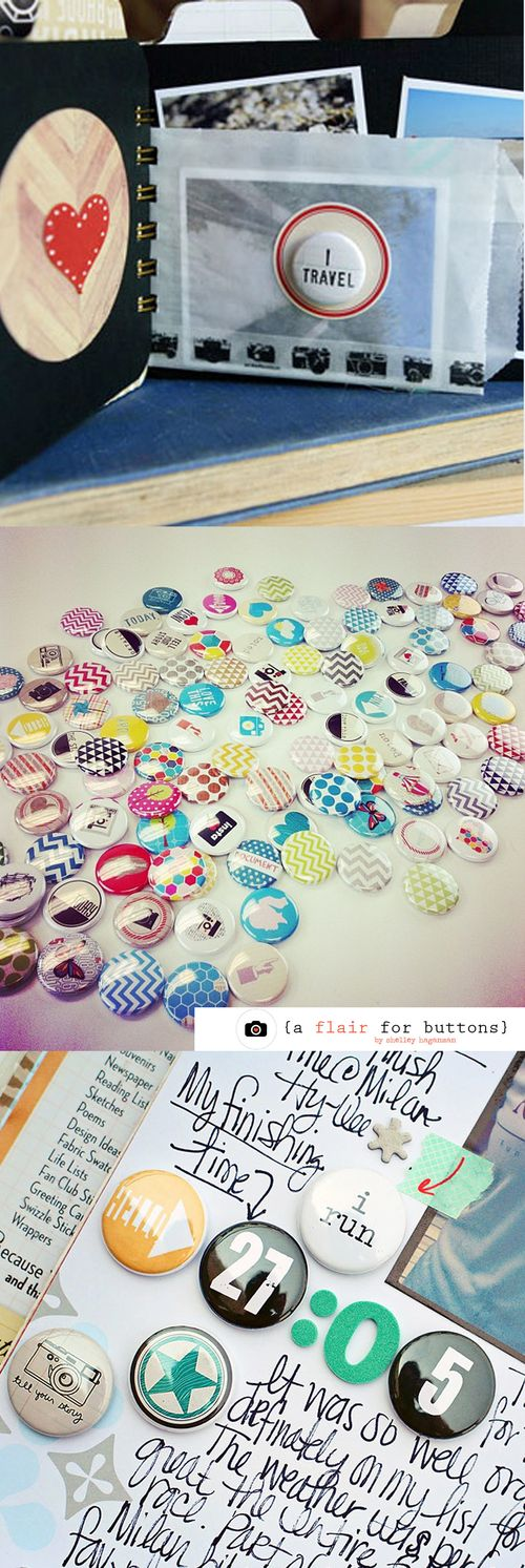 A flair for buttons
