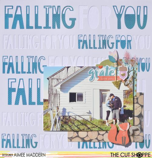 Falling For you Aimee Maddern for The Cut Shoppe 1