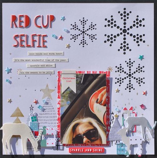 Red Cup Selfie by Aimee Maddern 1